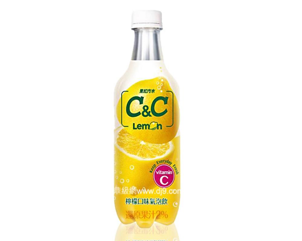 黑松C&C檸檬氣泡飲料(500mlx24瓶)