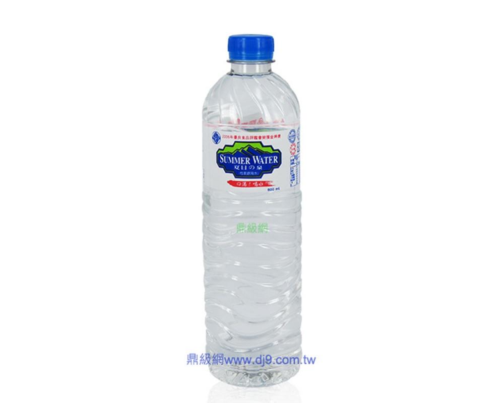 夏日の泉礦泉水(600mlx24瓶)