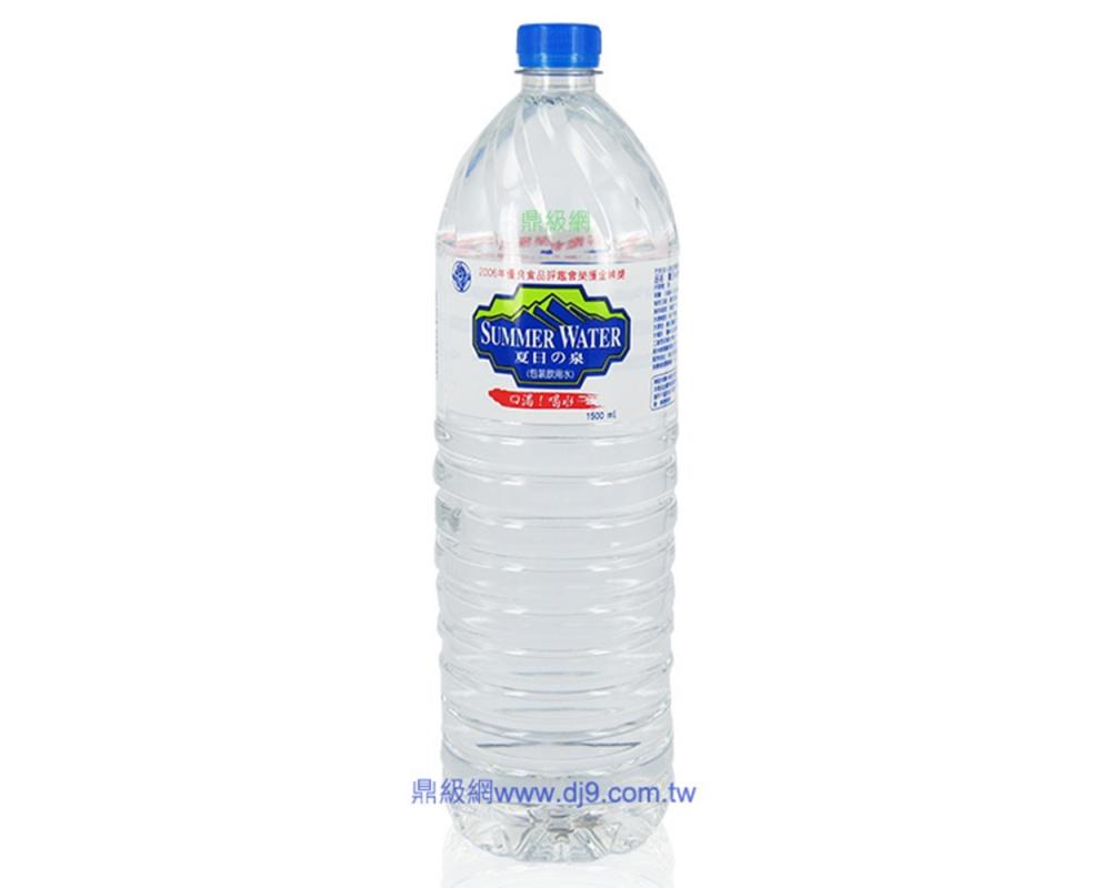 夏日の泉礦泉水(1500mlx12瓶)