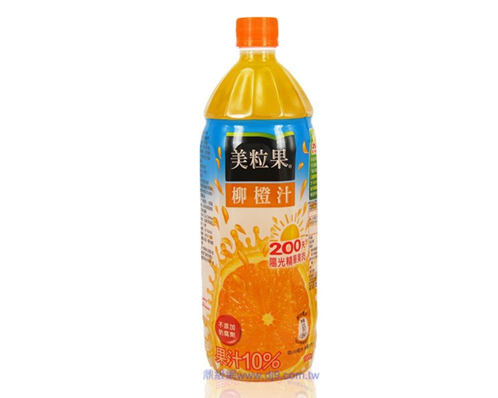 美粒果柳橙汁(1000mlx12瓶)