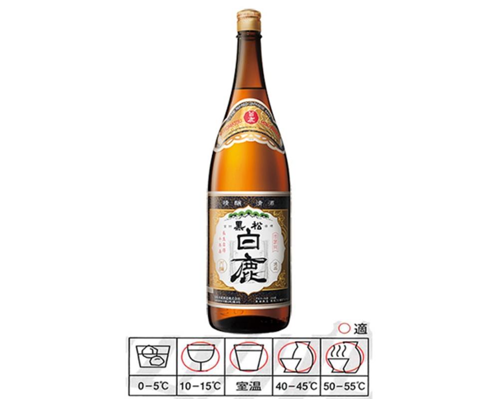黑松白鹿清酒1800ml