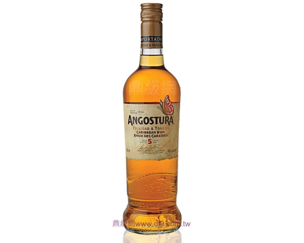 安格仕5年陳釀加勒比海蘭姆酒