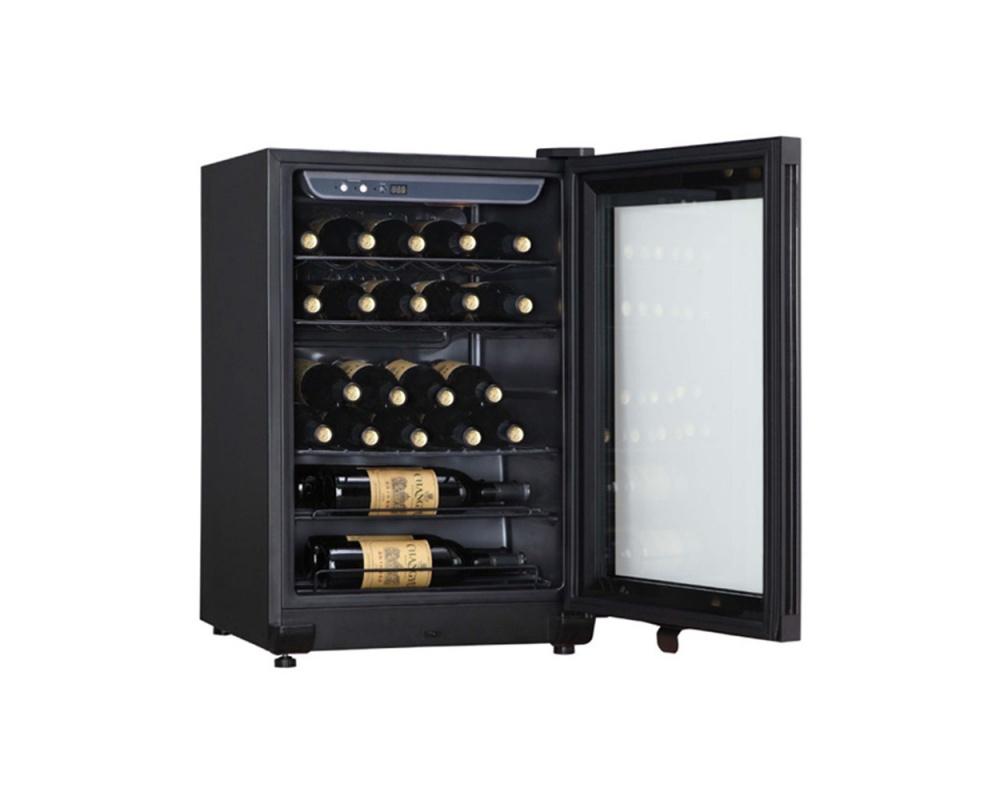Haier海爾電子式恆溫儲酒冰櫃JC-86GOB(紅酒櫃)