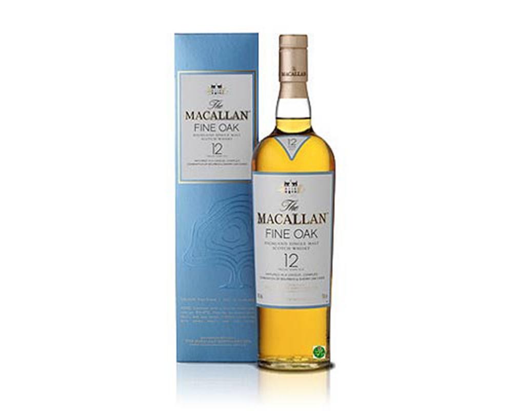 麥卡倫Fine Oak 12年單一麥芽威士忌