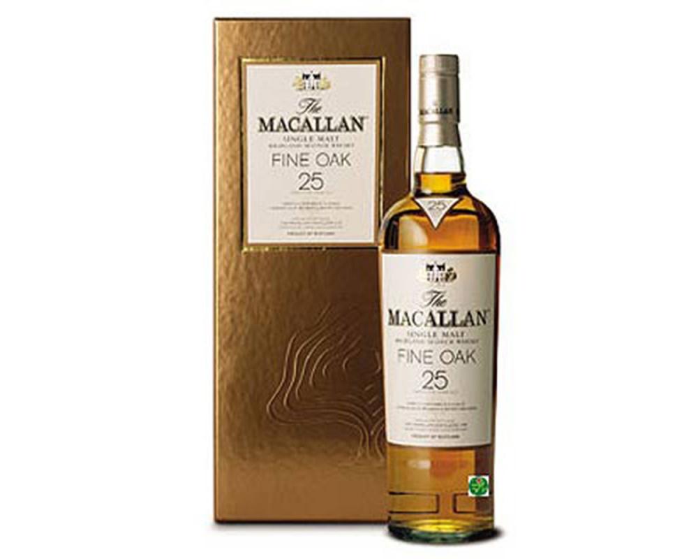 麥卡倫Fine Oak 25年單一麥芽威士忌