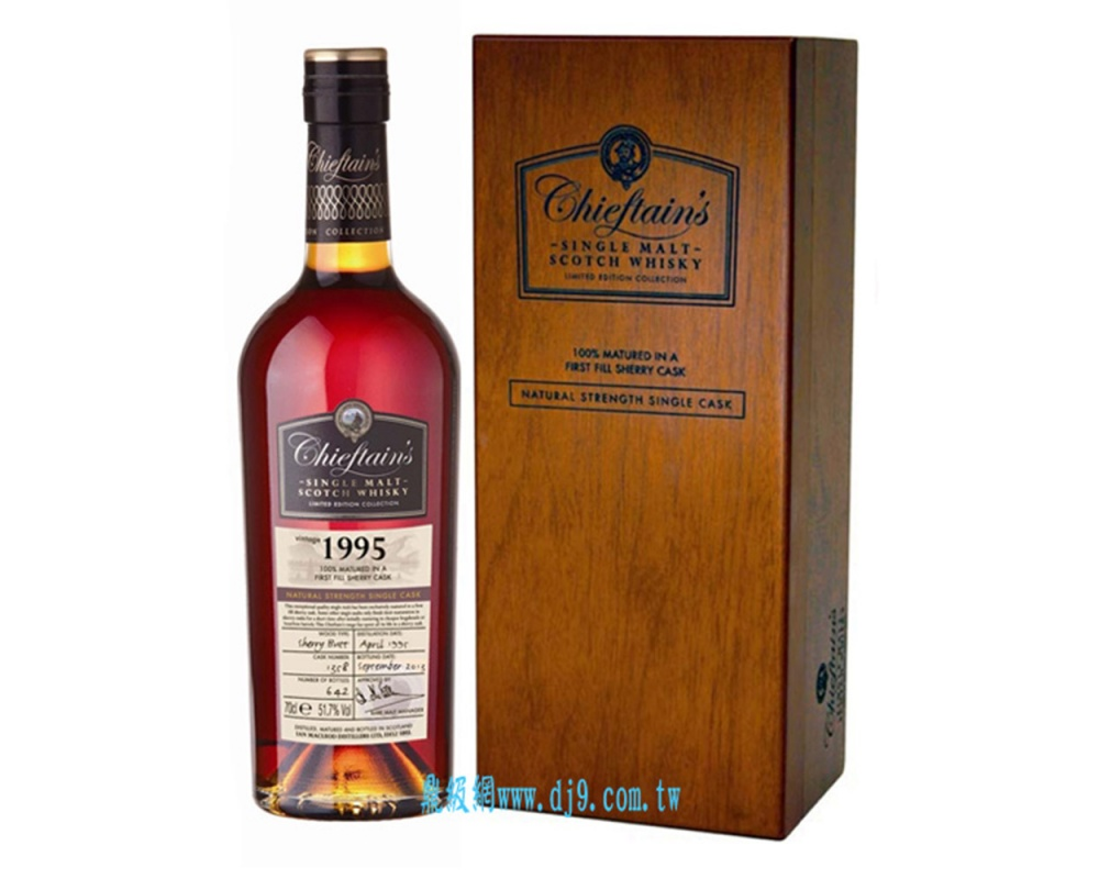 老酋長雪莉桶1995年單一麥芽威士忌原酒