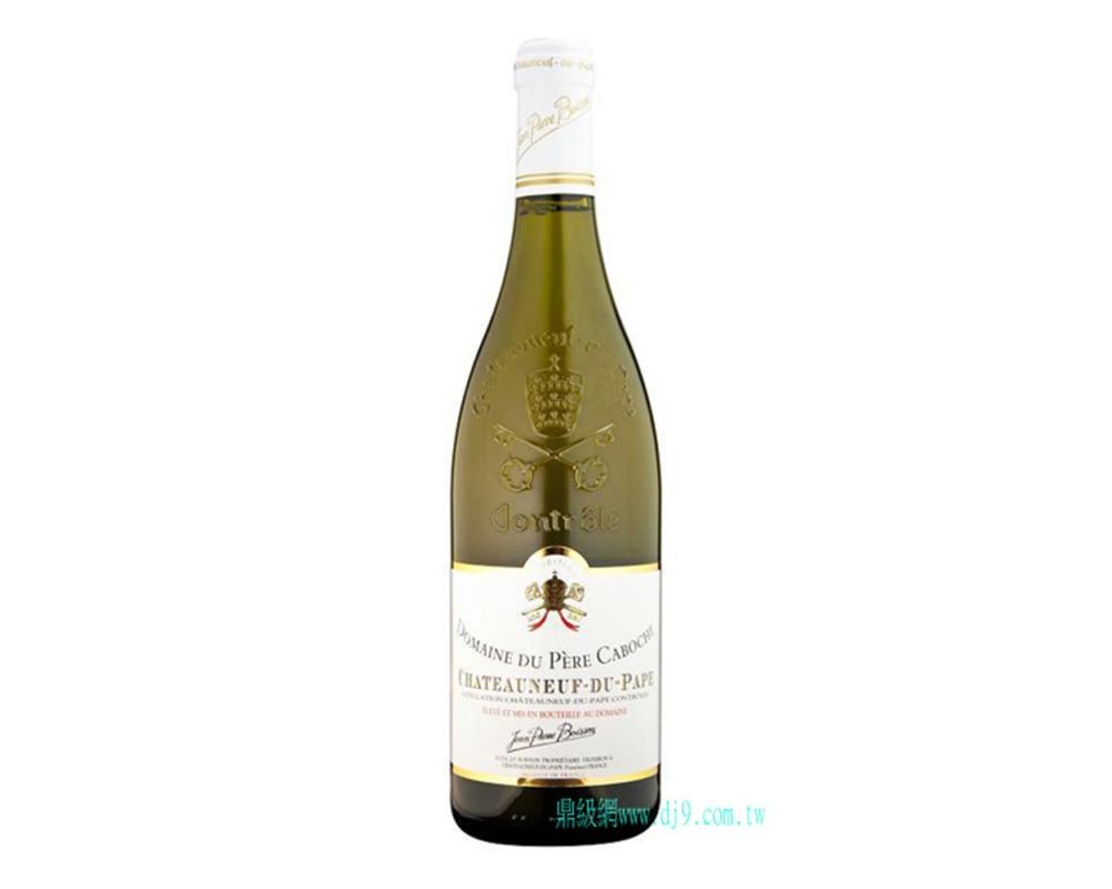 法國隆河貝爾卡博許酒莊2010教皇新堡經典白酒