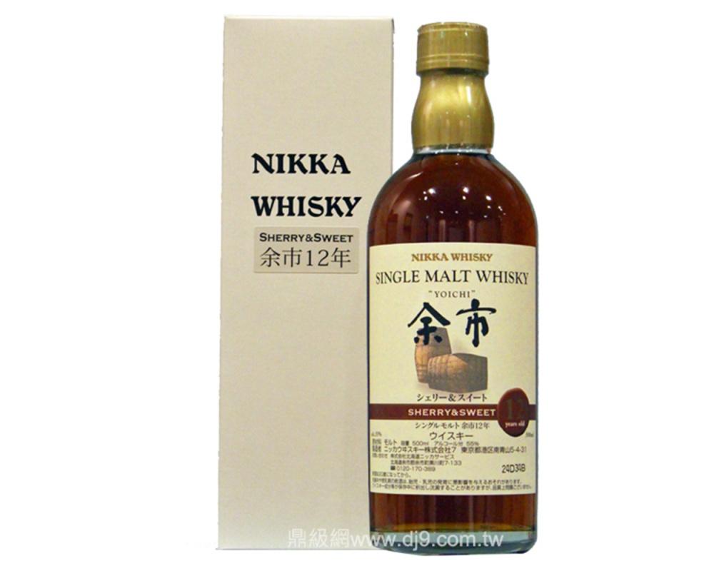 余市12年單一麥芽威士忌-酒廠限量版