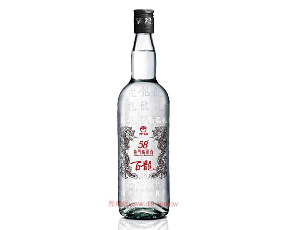 金門58度百龍高粱酒