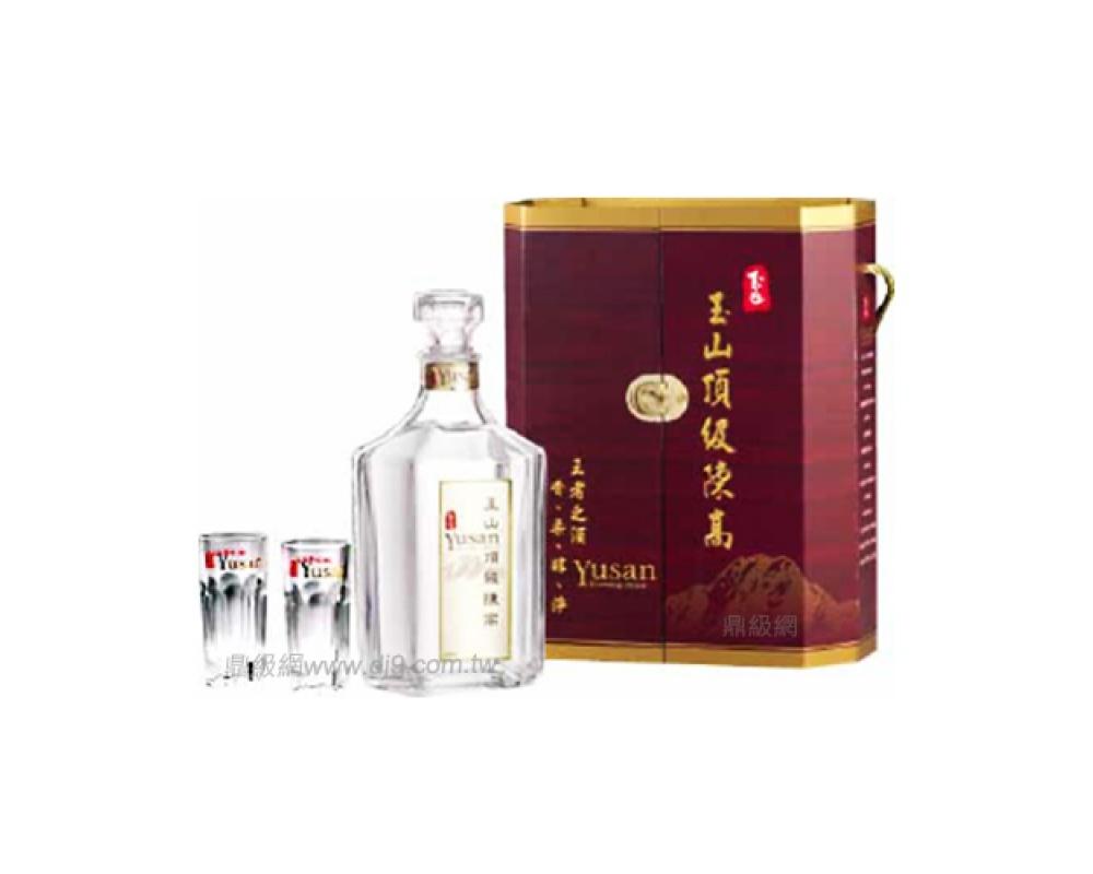 玉山頂級陳年高粱酒禮盒