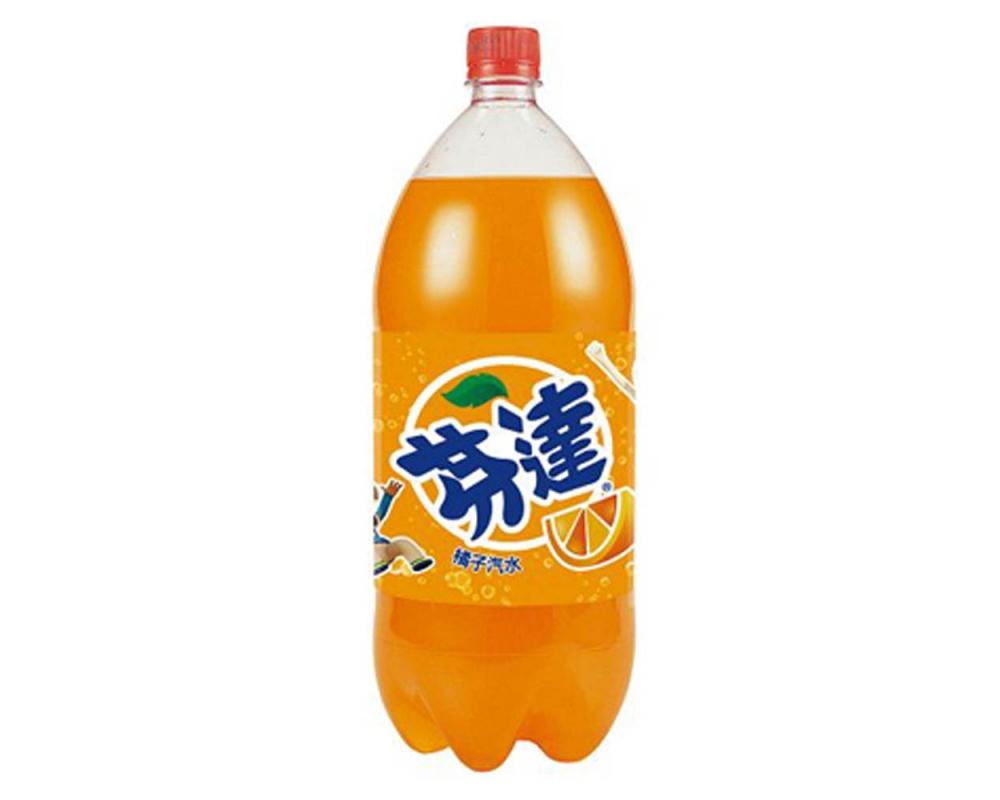 芬達橘子汽水(2000mlX6瓶)