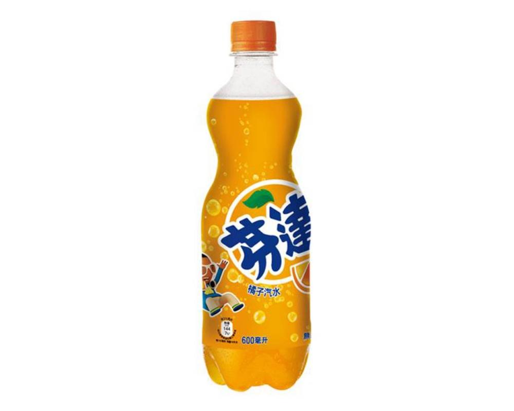 芬達橘子汽水(600mlX12瓶)