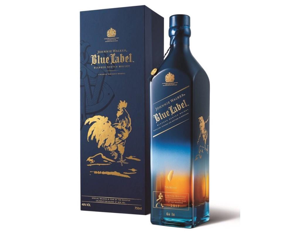 約翰走路藍牌威士忌-雞年限定版