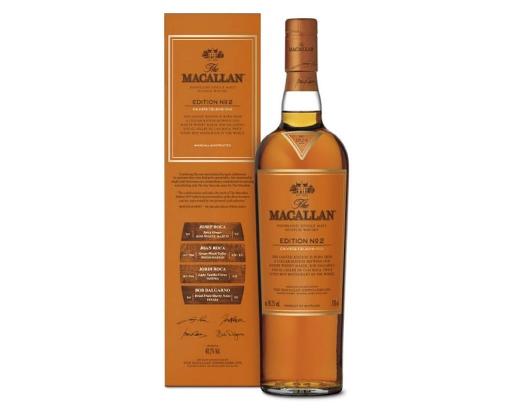麥卡倫Edition No.2單一麥芽威士忌