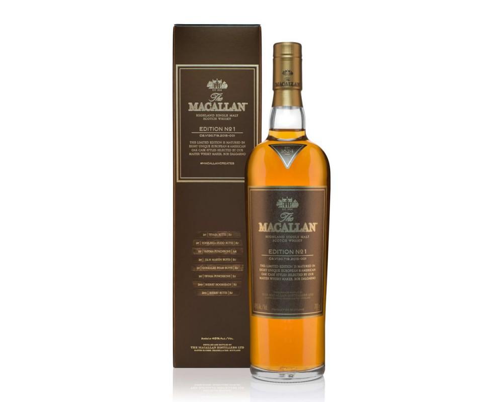 麥卡倫Edition No.1單一麥芽威士忌