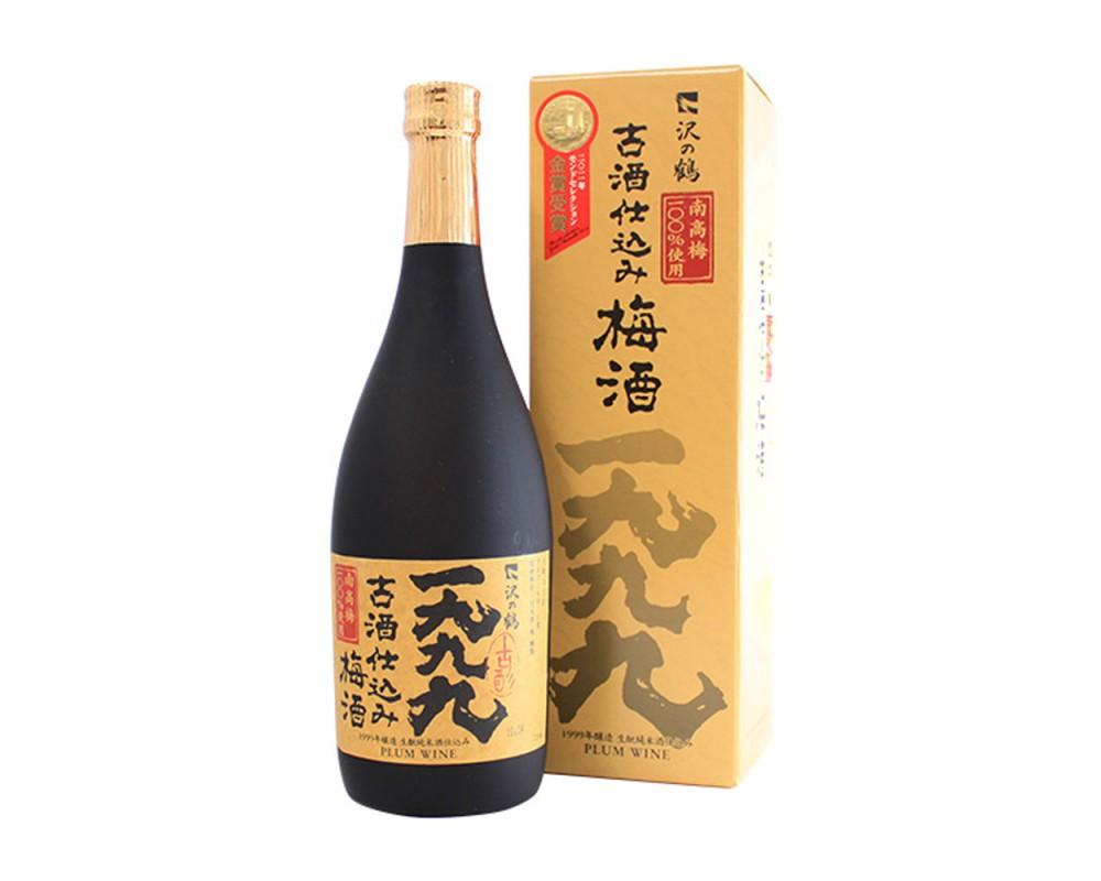 沢之鶴1999年古酒仕込梅酒