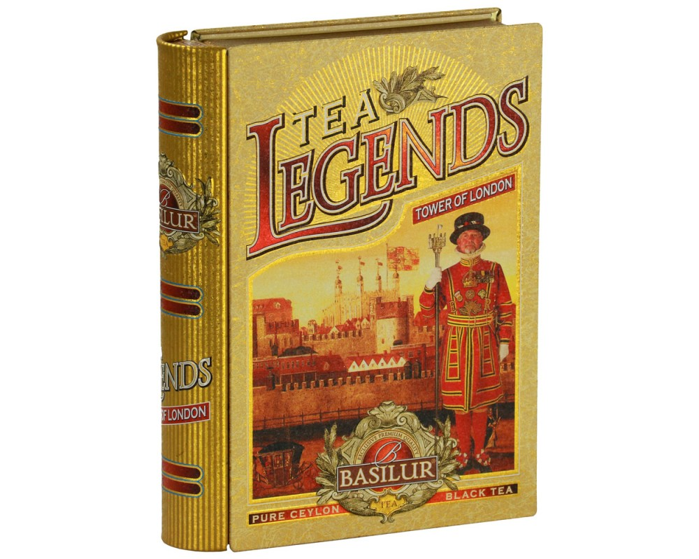 Legends典藏書錫蘭茶(倫敦塔)