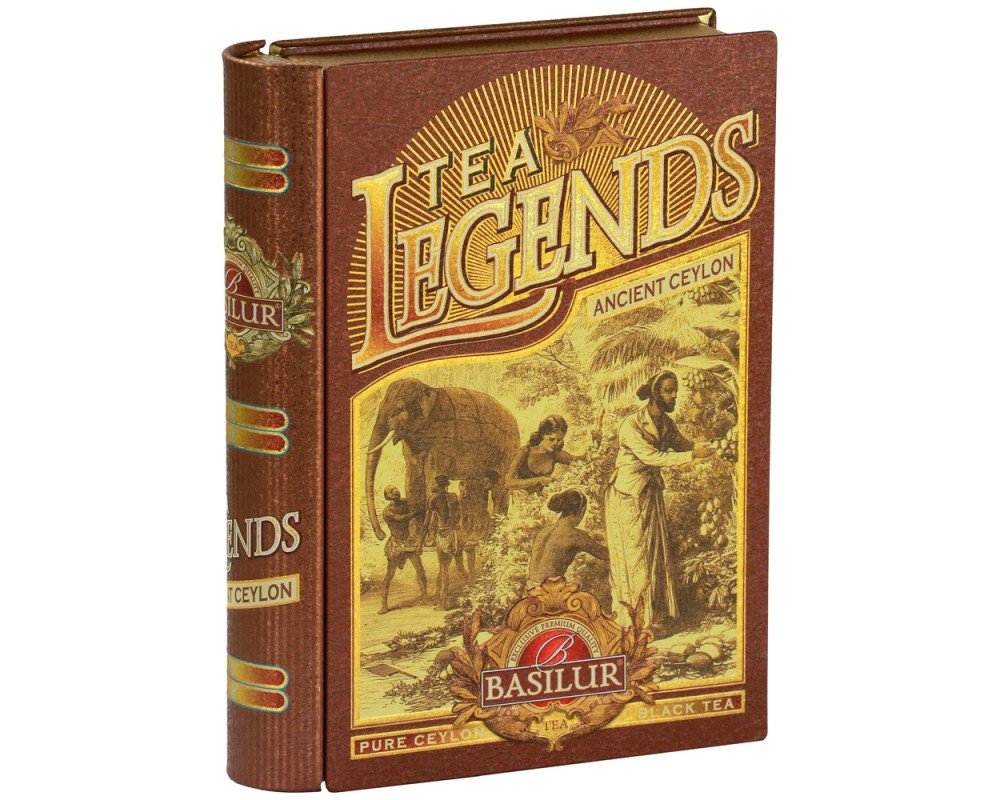 Legends典藏書錫蘭茶(古錫蘭)