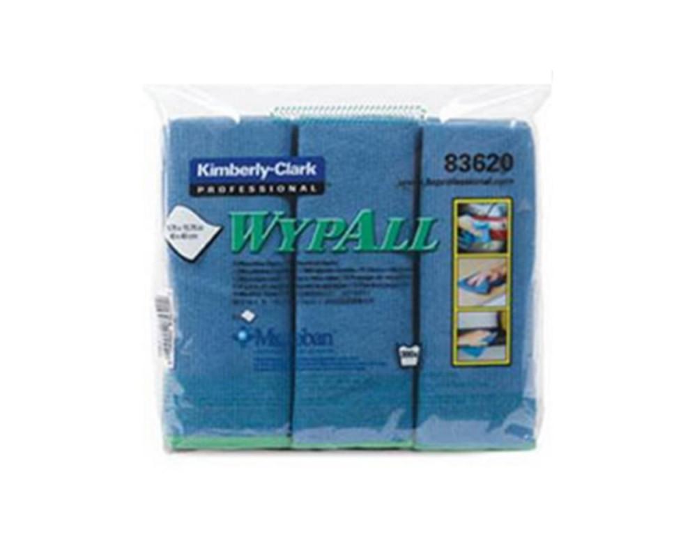 勁拭抗菌超級細纖維擦拭布-藍
