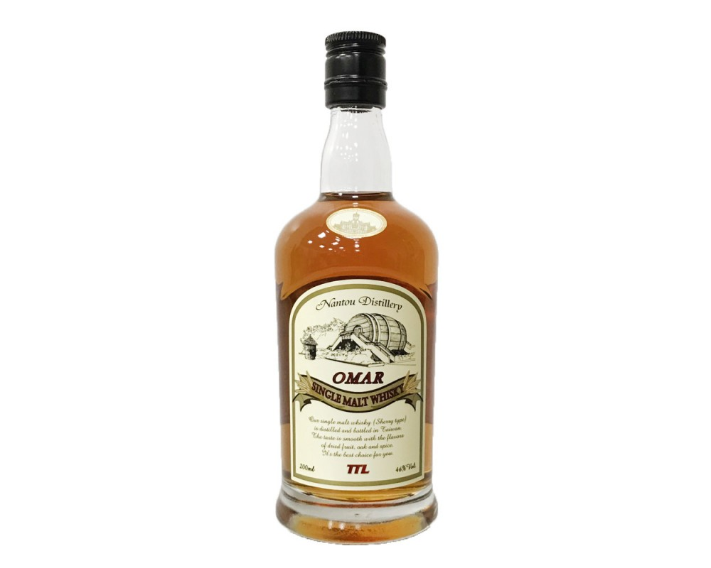 Omar單一麥芽威士忌(雪莉果乾)200ml