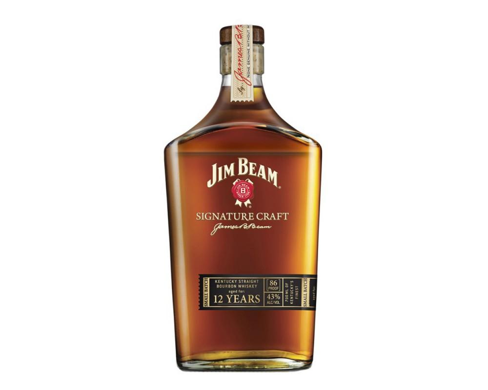 金賓大師精選12年波本威士忌