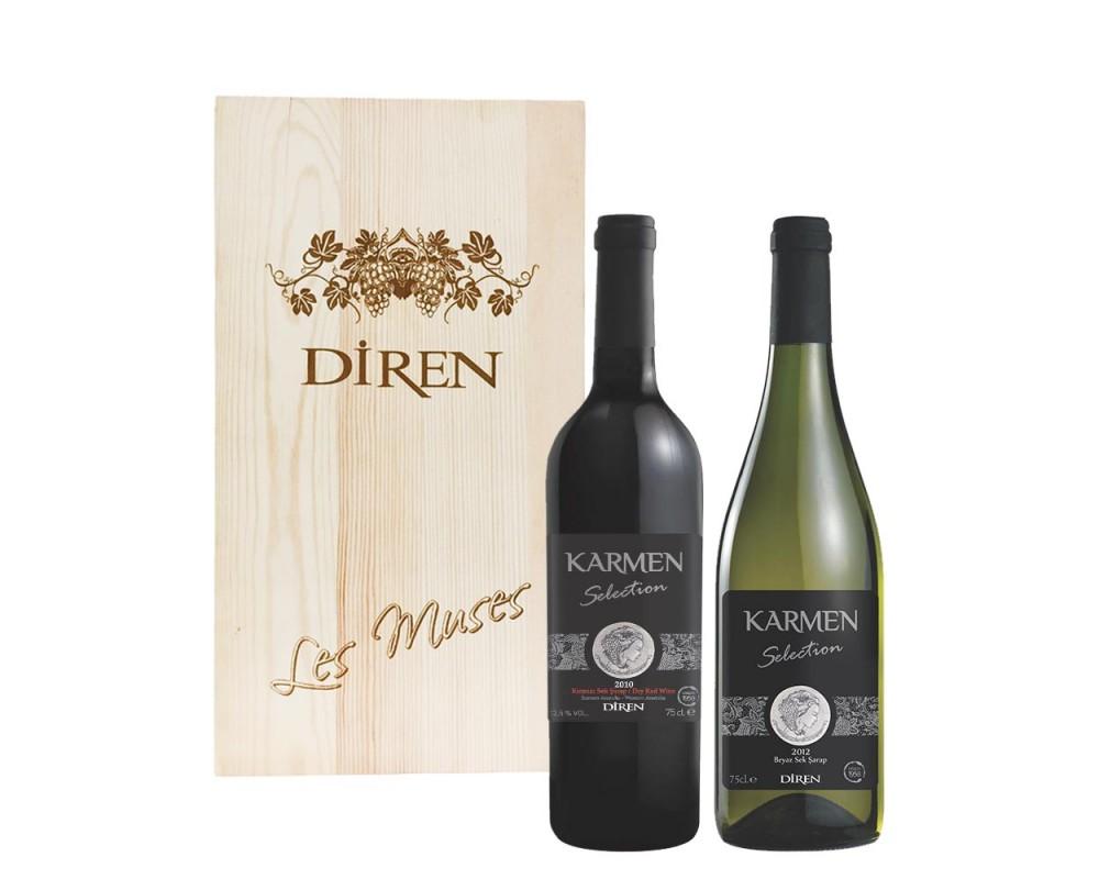 蒂恩Diren卡門精選葡萄酒禮盒