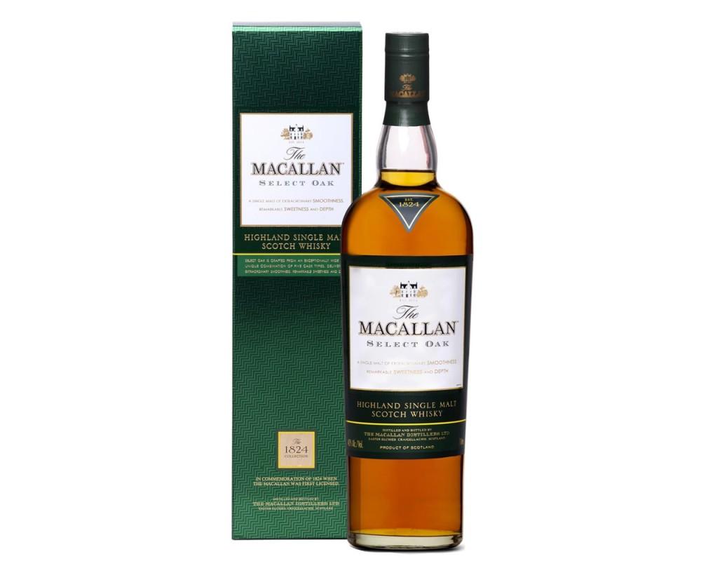 麥卡倫1824綠標精選單一純麥威士忌