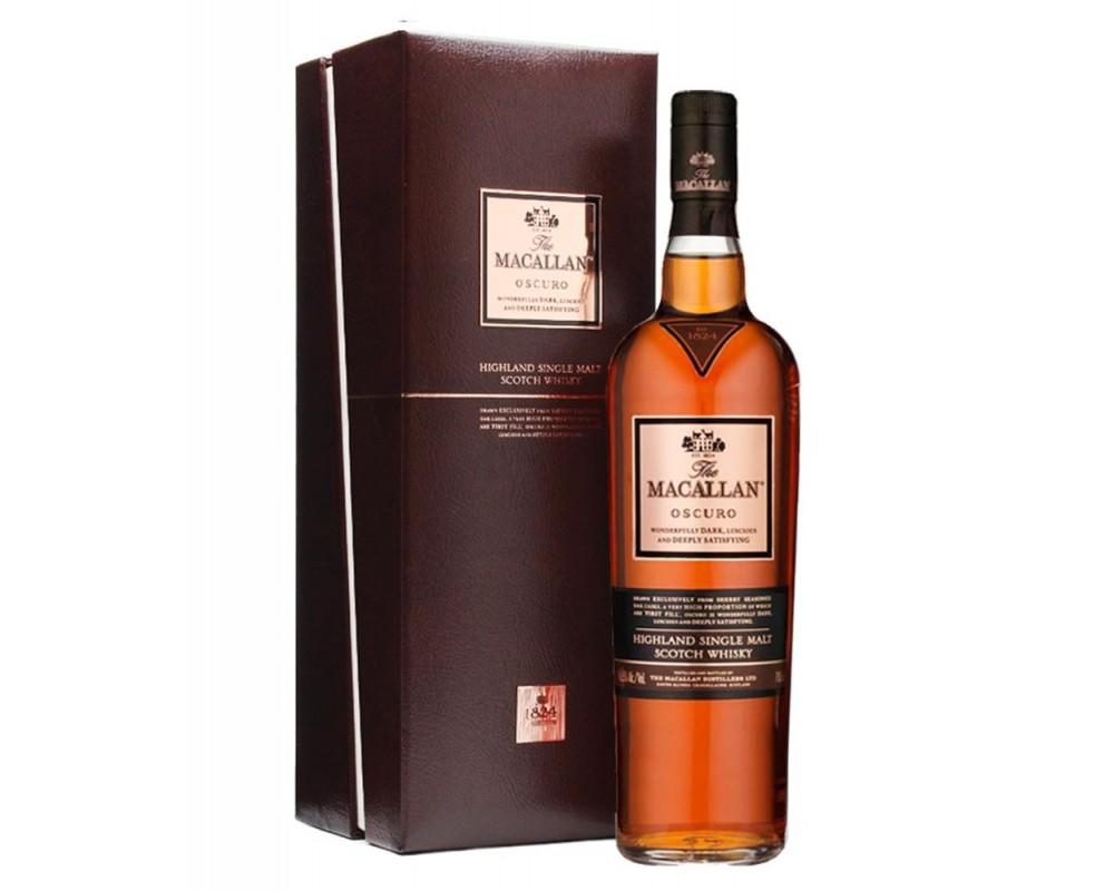 麥卡倫1824 Oscuro單一純麥威士忌