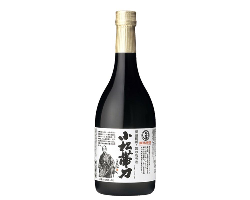 小松帶刀純米樽酒