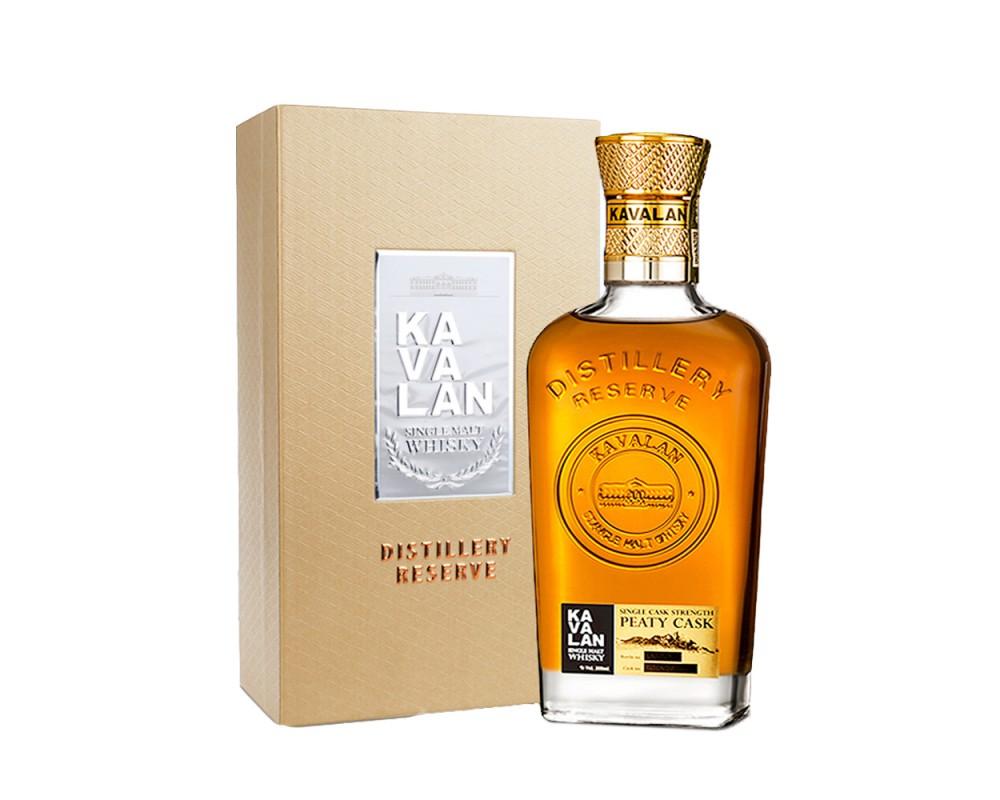 噶瑪蘭珍藏單一麥芽威士忌-煙燻泥煤