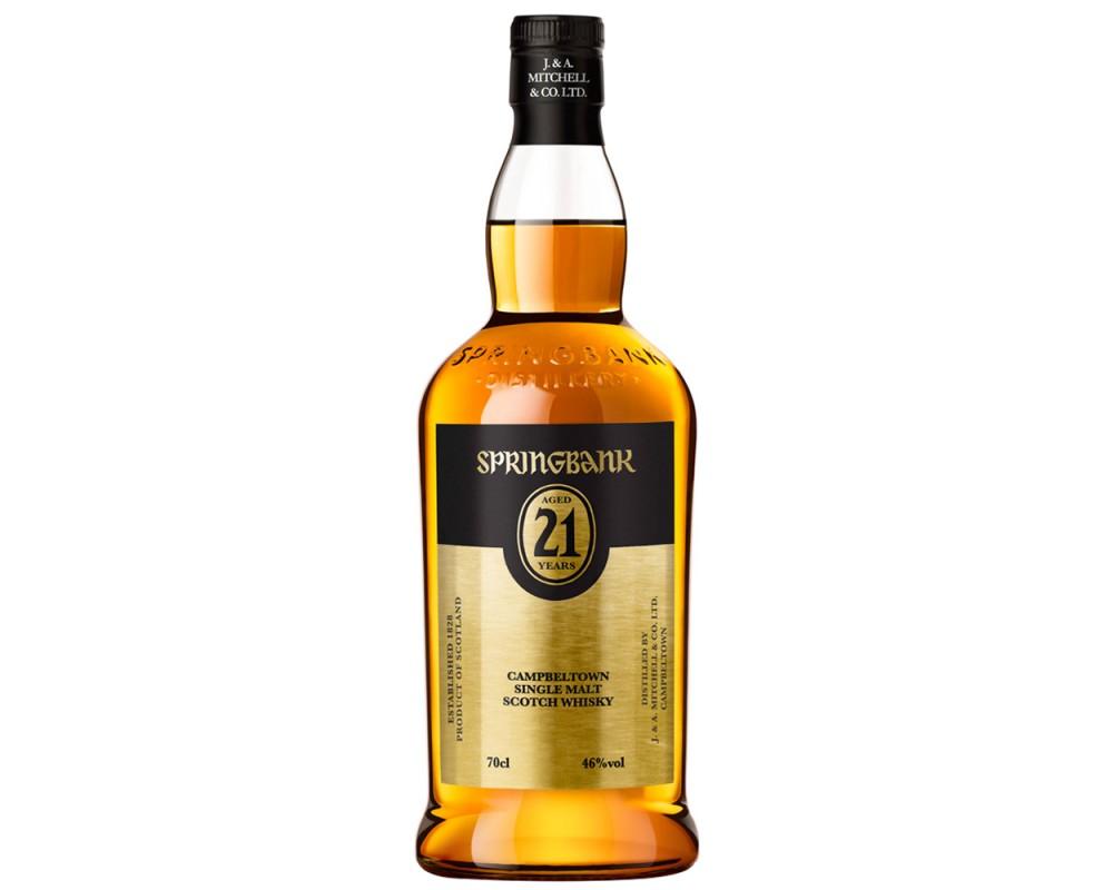 雲頂21年單一純麥威士忌