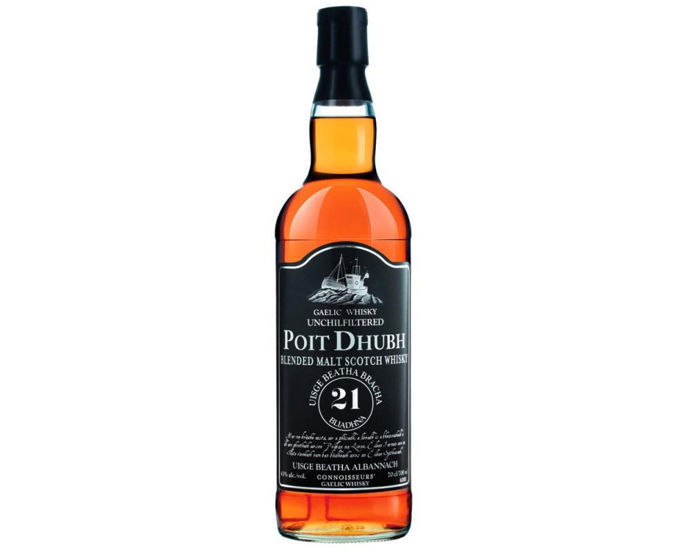 PD黑罐21年蘇格蘭威士忌