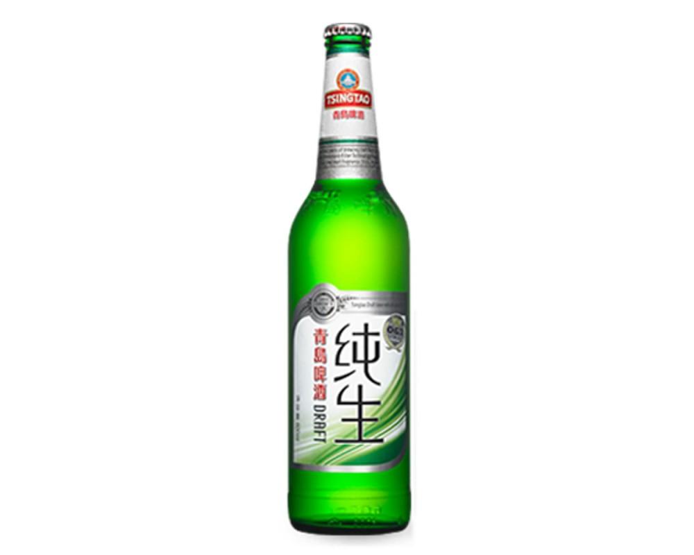 青島純生啤酒(600mlx12瓶)