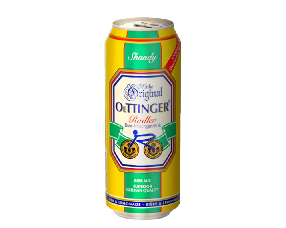 歐廷格檸檬啤酒(500mlx24罐)