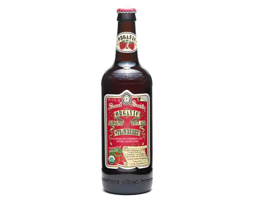 塞繆爾史密斯有機草莓艾爾啤酒(550mlx12瓶)