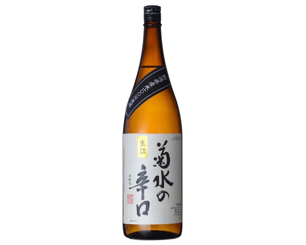 菊水辛口本釀造1.8L