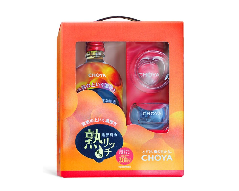 CHOYA蝶矢極熟梅酒禮盒