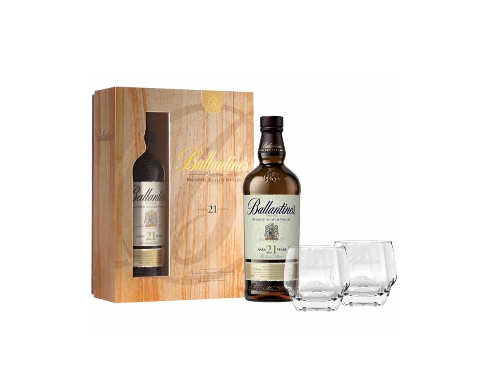 百齡罈21年威士忌禮盒