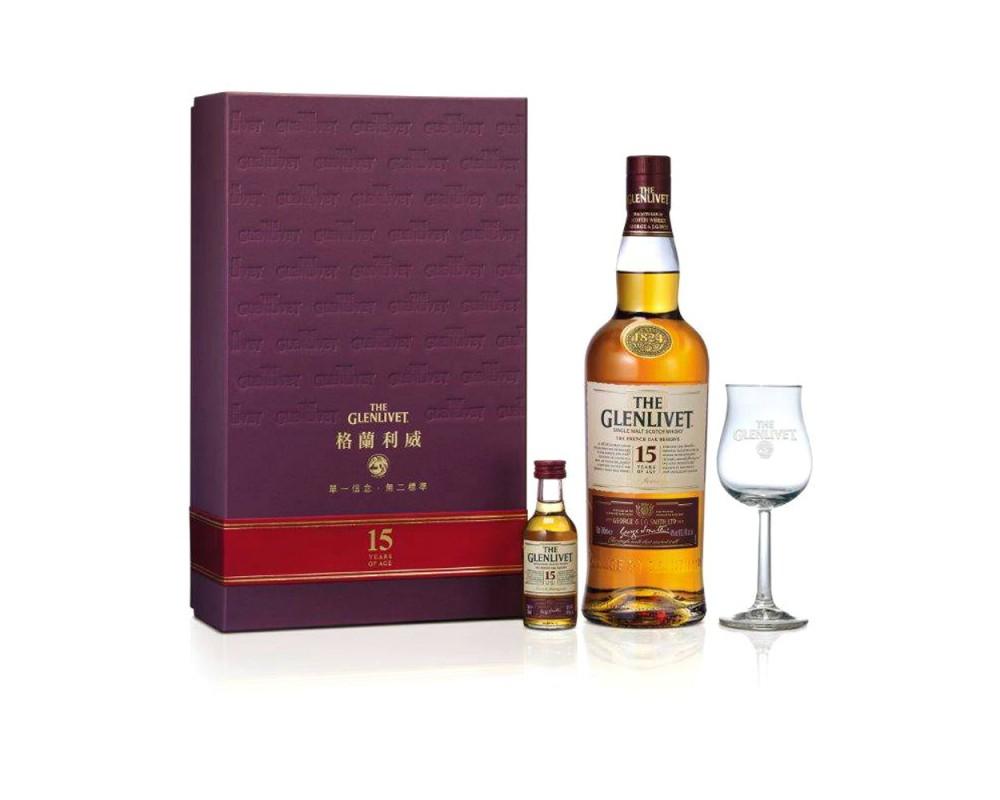 格蘭利威15年威士忌禮盒