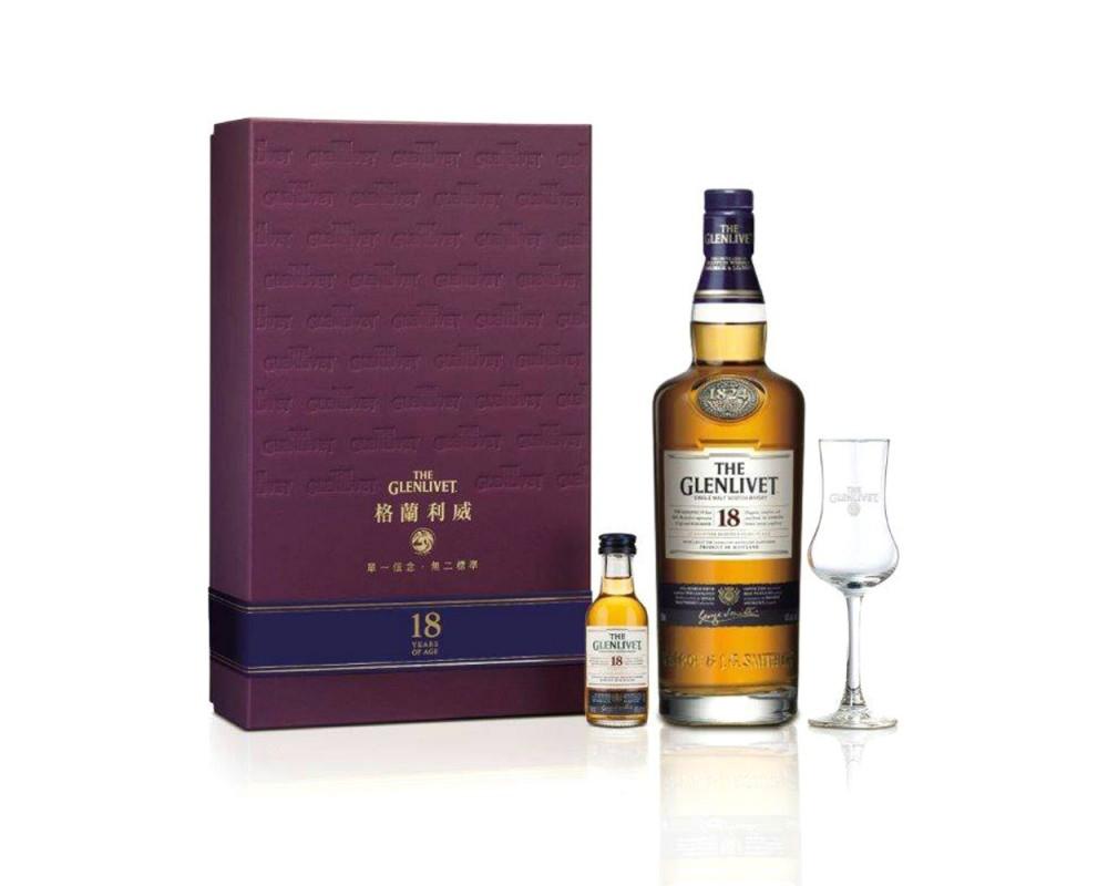 格蘭利威18年威士忌禮盒