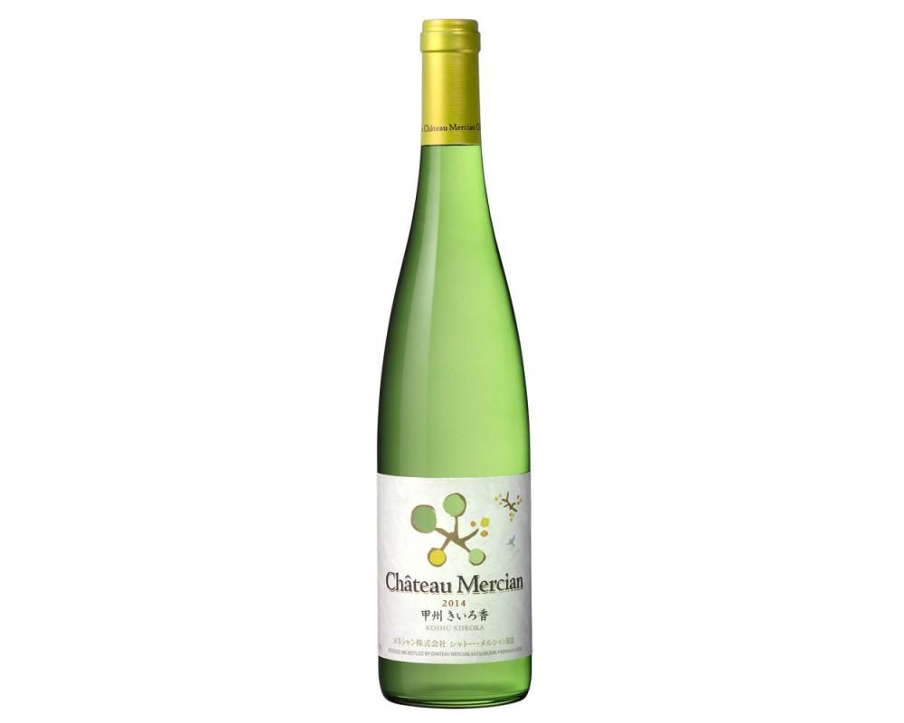 甲州黃香白葡萄酒2014
