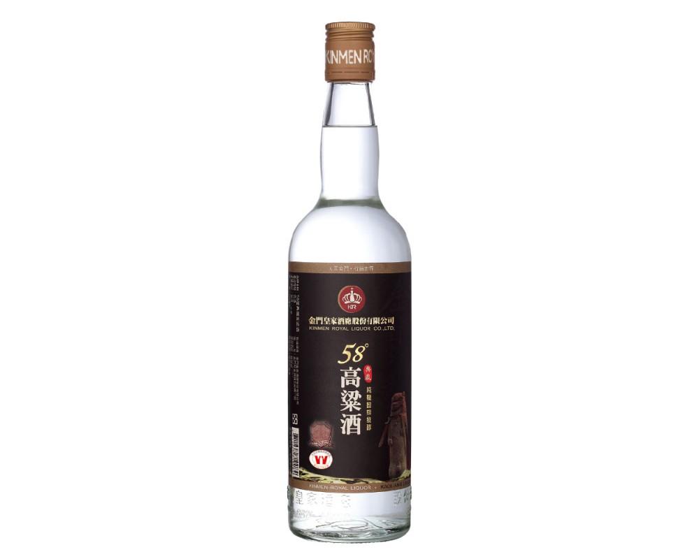 皇家58度典藏高梁酒600ml