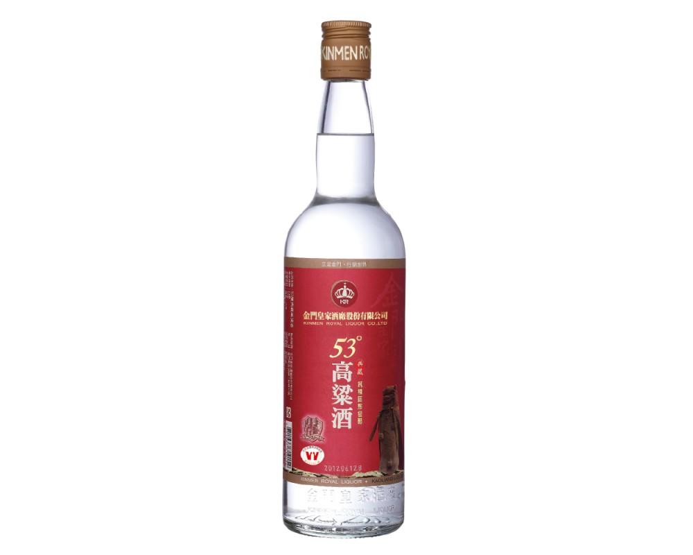 皇家53度典藏高梁酒600ml