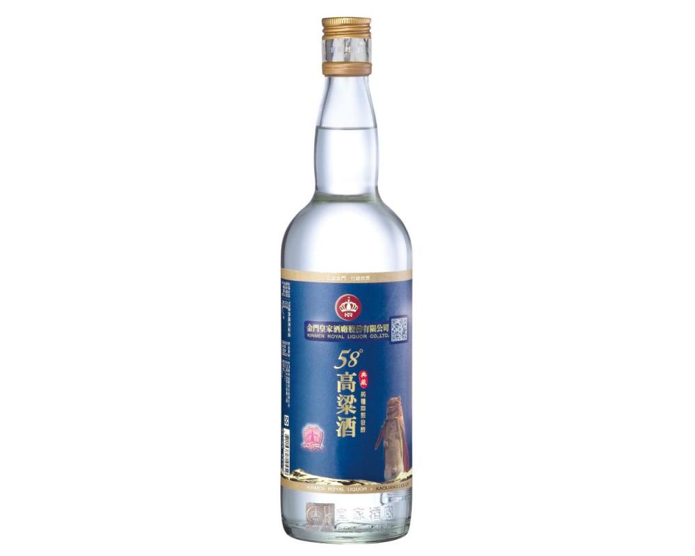 皇家58度典藏高梁酒750ml