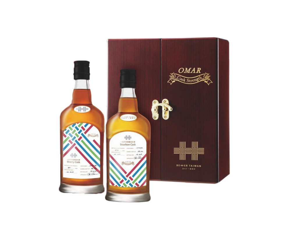 OMAR原桶強度威士忌-106年國慶紀念酒