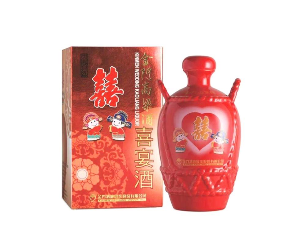 金門高粱-喜宴酒(瓷瓶)