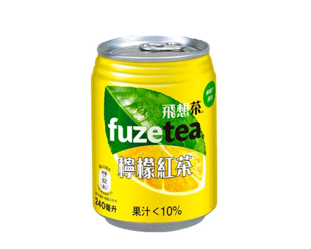 飛想茶檸檬紅茶240ml
