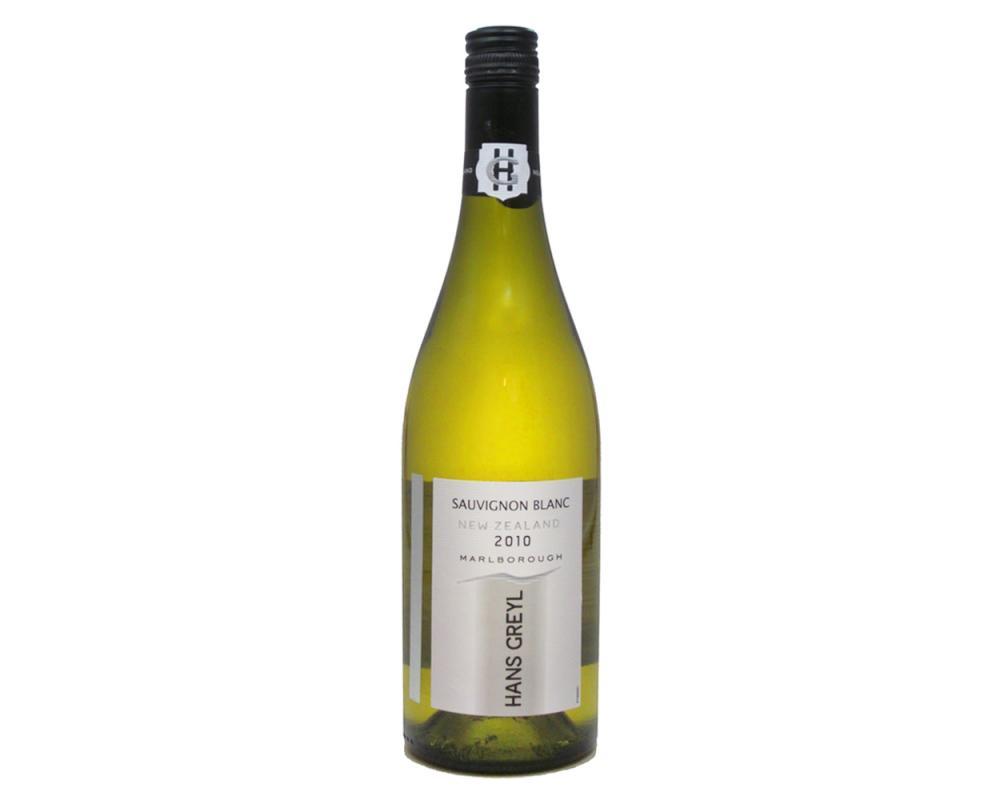 紐西蘭漢斯葛瑞白蘇維翁白酒2010