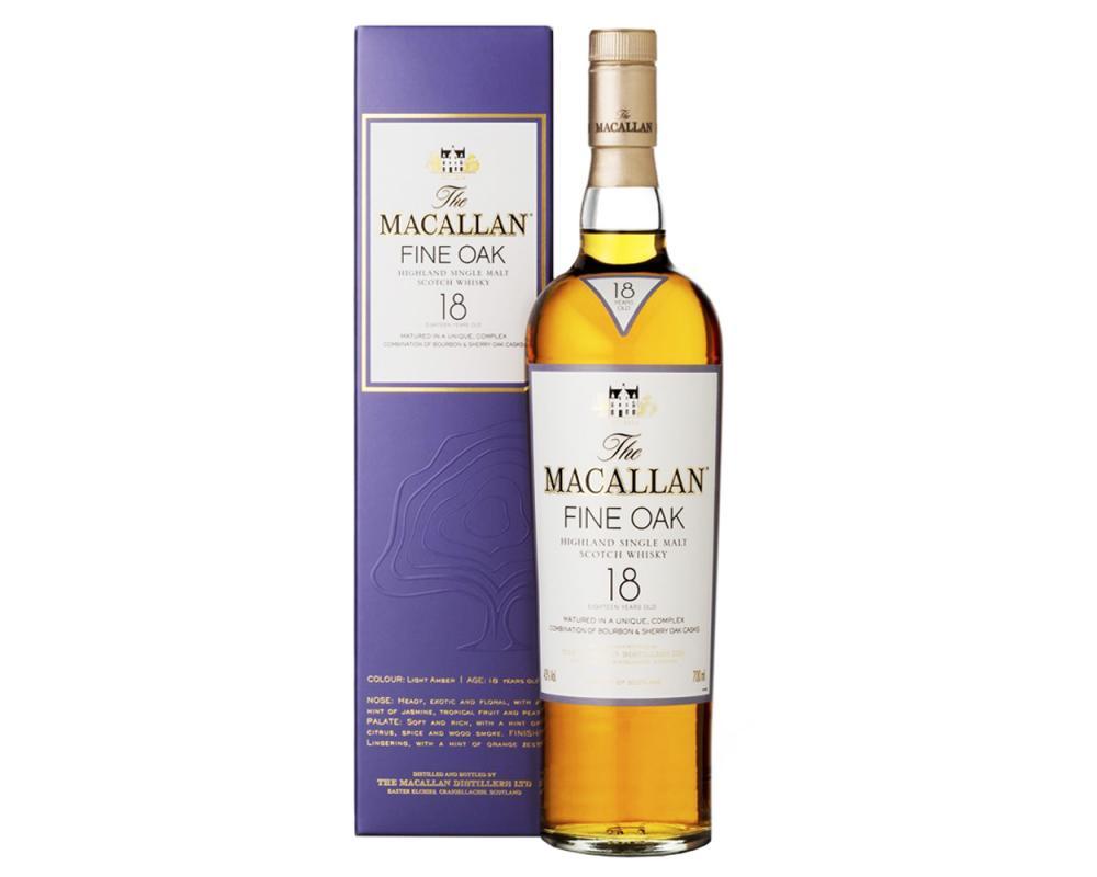 麥卡倫Fine Oak 18年單一麥芽威士忌