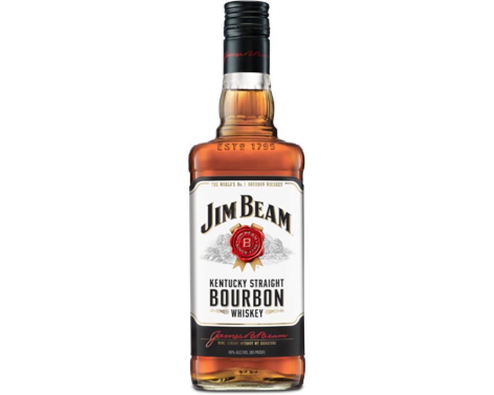 【箱購特價12入】金賓白牌波本威士忌